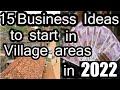 15 Business Ideas to start in Village areas in 2019 ||  गांव में शुरू करें 15 बेस्ट बिज़नस