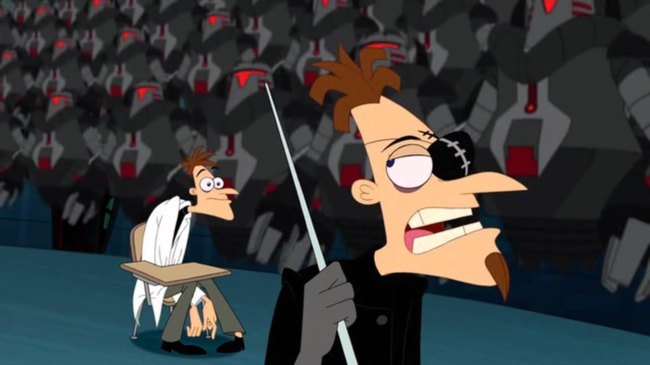 Phineas y ferb los transportadores del mal