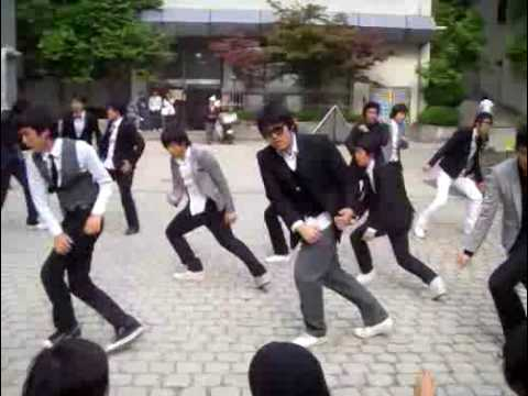 Super Junior - Sorry Sorry dance steps version 3