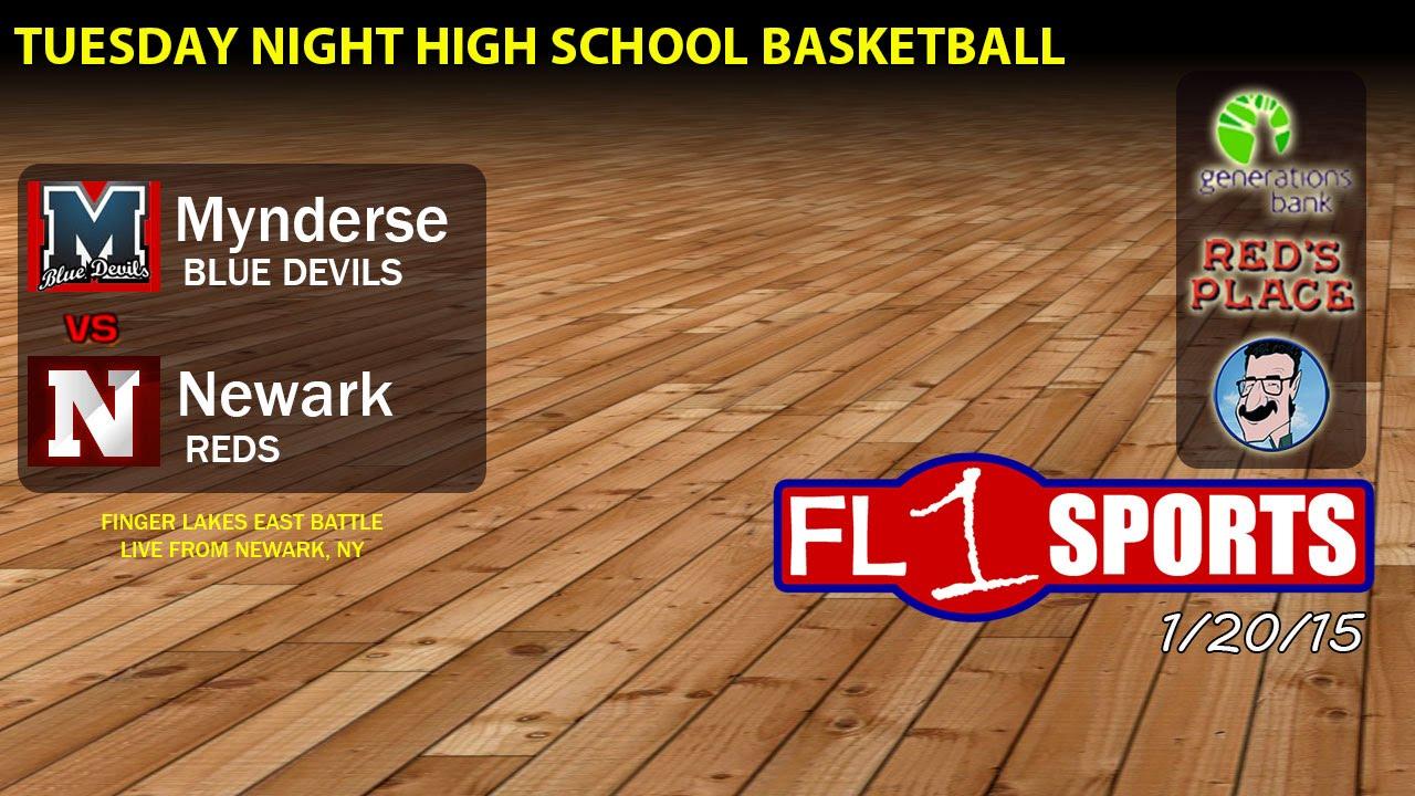 Big Game Tuesday on FL1 Sports: Mynderse vs. Newark