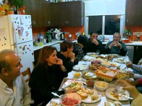 Nada with family celebrate St. John the Baptist in Cyprus