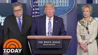 Download Trump Signals Impatience With Shutdown As Coronavirus Cases Surge: TODAY's Top News Stories | TODAY Mp3 and Videos