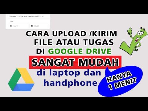 Cara Kirim File Dari Google Drive Ke WA.
