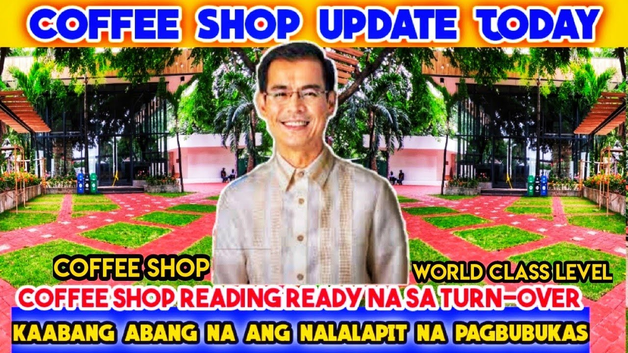 COFFEE SHOP UPDATE! KAABANG ABANG NA ANG NALALAPIT NA PAGBUBUKAS | AUGUST 9, 2020