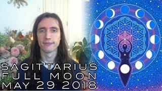 Sagittarius Full Moon May 29 2018 - Inner-Truth; Mourning & Feeling Mother Leads Her Children Home