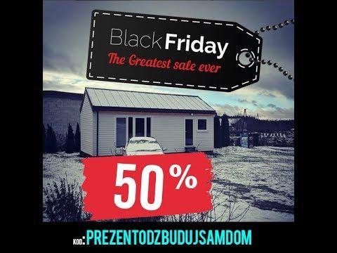 Budowa domu krok po kroku, mega zniżka 50% na Black Firday!