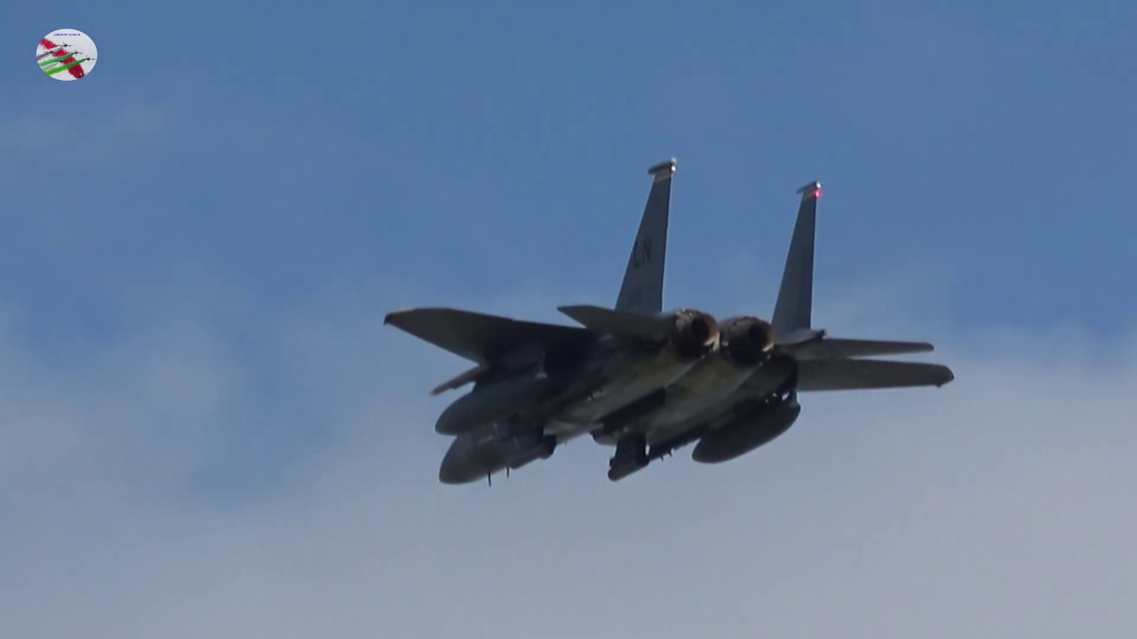 F-15s Departing Mildenhall 7th July 2020
