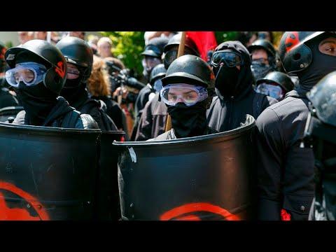 Antifa is the world's most 'fascist Orwellian organisation'