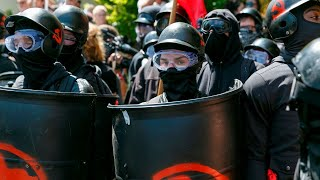 Antifa is the world's most 'fascist Orwellian organisation'