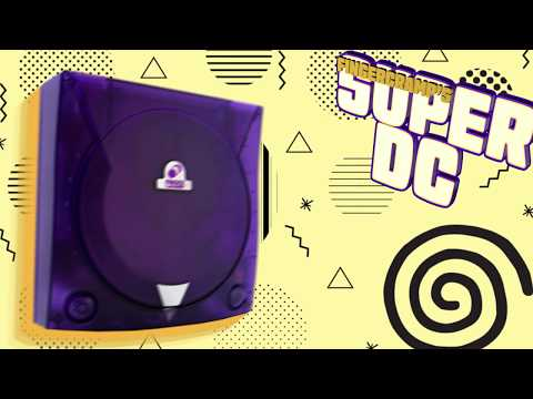 THE ONLY DREAMCAST YOU WILL EVER NEED!  CHECK OUT THESE EXCLUSIVE MODS.  FingerCramp Super DC.
