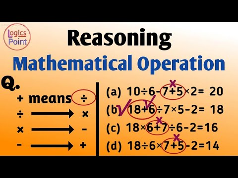 Reasoning   Mathematical Operation    for SSC CGL CHSL CPO TET BANKING RAILWAY AC CDS