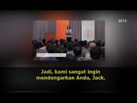 Translate Bahasa Indonesia : Pesan Inspiratif dari Jack Ma ketika mengisi di Universitas Stanford