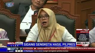 Saksi Prabowo Serahkan Amplop Cokelat Sebagai Alat Bukti Saat Sidang