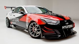 Hyundai Genesis Coupe R-Spec Track Edition 2012 Videos