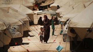 أخبار عربية | نزوح نحو مئة الف عراقي جراء المعارك في غرب #الموصل