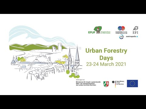 Day 1 Keynote session 2 | Urban forestry and the pillars of sustainability