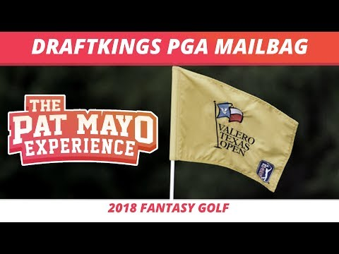 2018 Fantasy Golf Picks - DraftKings Valero Texas Open LIVE Q and A & Viewer Chat