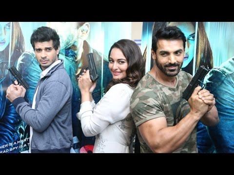 UNCUT Force 2   Trailer Launch   John Abraham, Sonakshi Sinha & Tahir Raj Bhasin