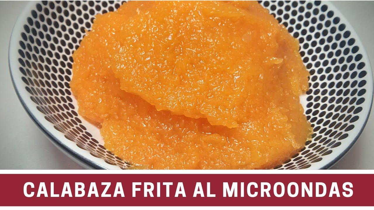 Calabaza frita picante al microondas cocinar en - Cocinar calabaza frita ...