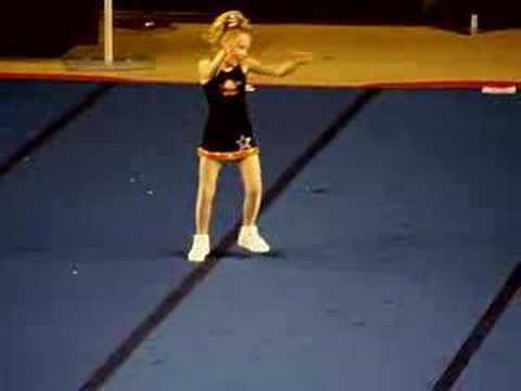 Ashley's Cheer Solo Performance