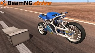 BeamNG.drive - FIRST MOTORCYCLE MOD