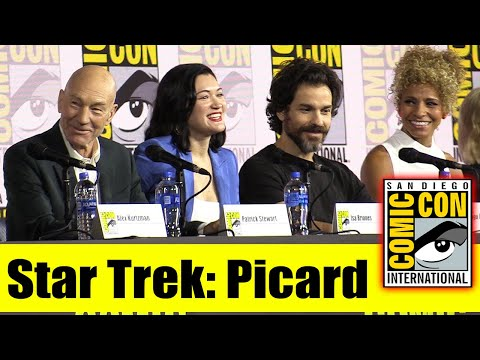 STAR TREK: PICARD | Comic Con 2019 Full Panel (Patrick Stewart, Brent Spiner, Jeri Ryan)