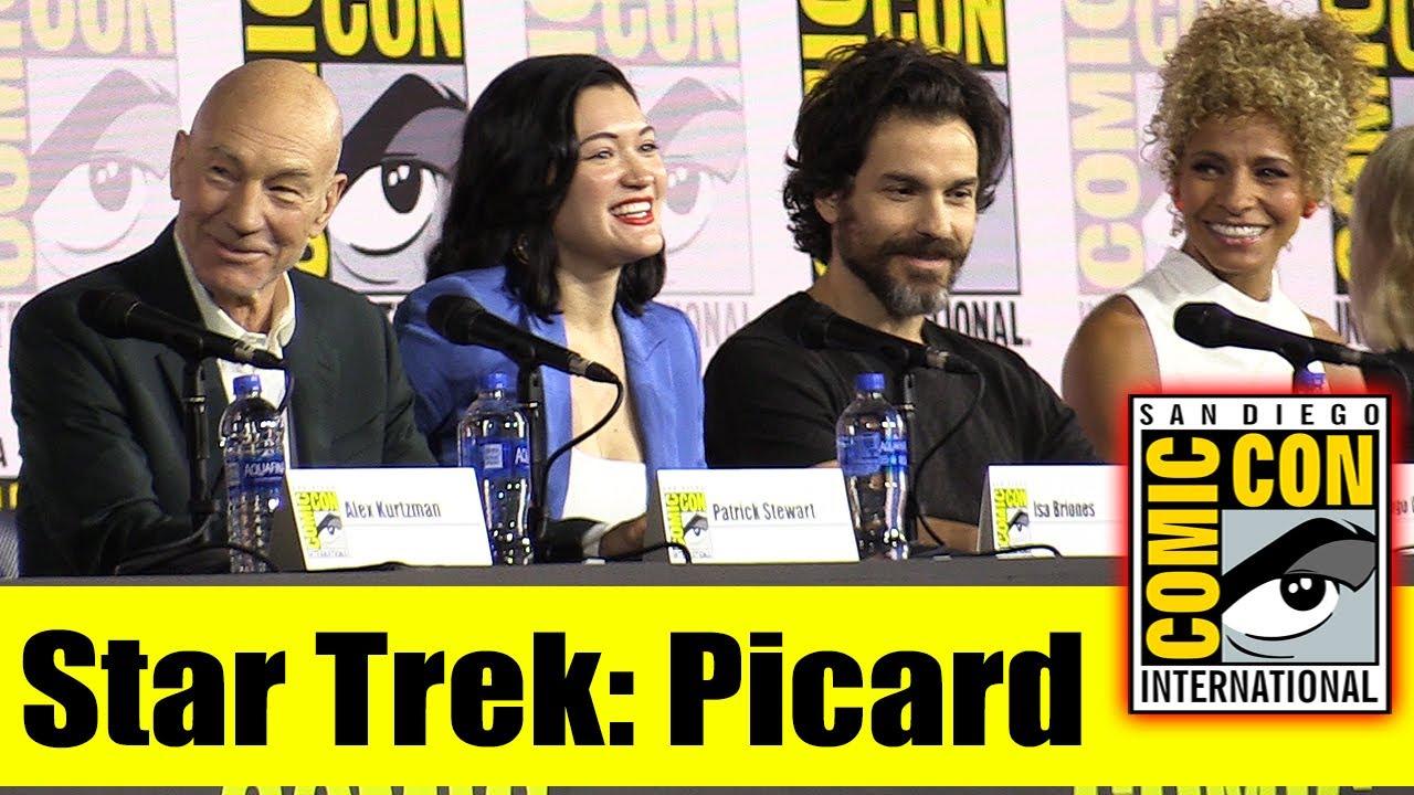 Download STAR TREK: PICARD | Comic Con 2019 Full Panel (Patrick Stewart, Brent Spiner, Jeri Ryan)