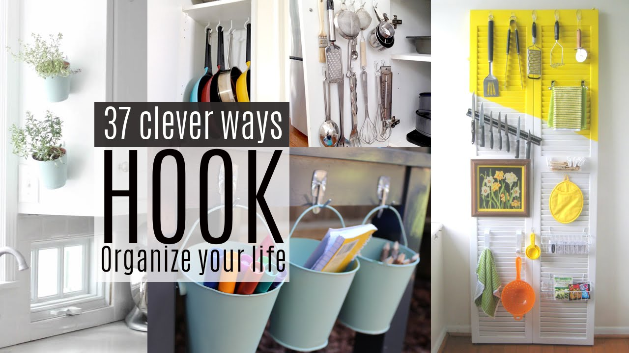 37 Organizing Ideas With Command Hooks Youtube