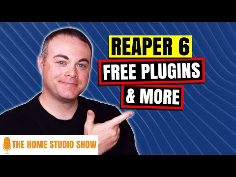 Reaper 6, Waves Abbey Road Saturator, Free Plugins And More