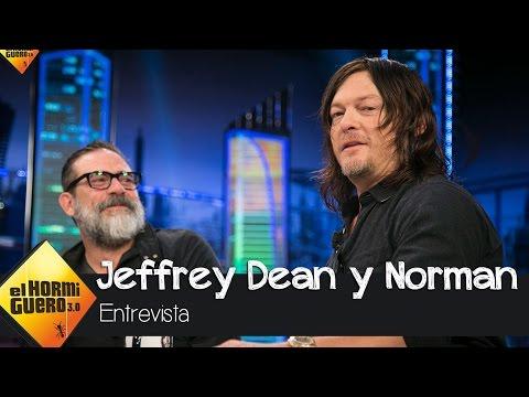 """Norman Reedus, de los fans: """"Me han enviado implantes mamarios"""" - El Hormiguero 3.0"""