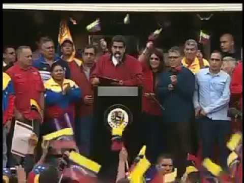 Nicolás Maduro presentó las bases para la Asamblea Nacional Constituyente - Parte 1
