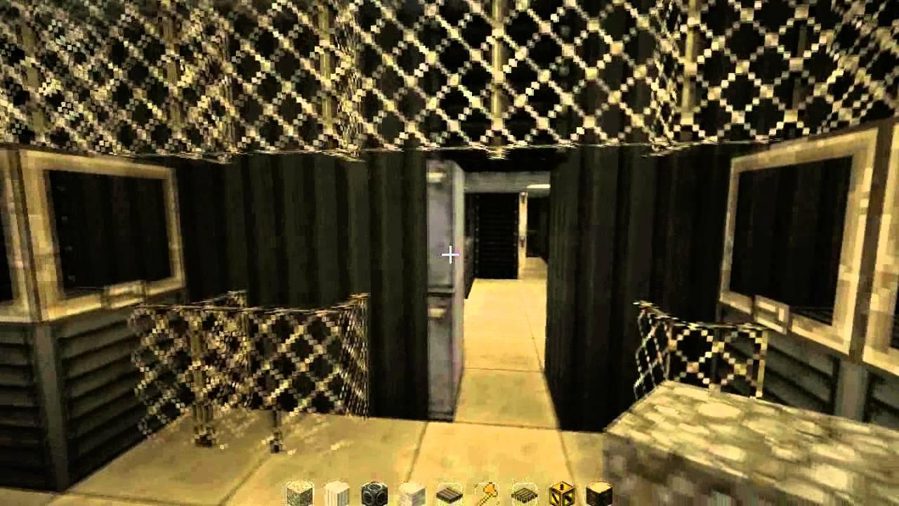 Minecraft visite bunker en construction youtube - Construction abri anti atomique ...