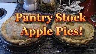 Pantry Stock Apple Pies 2015