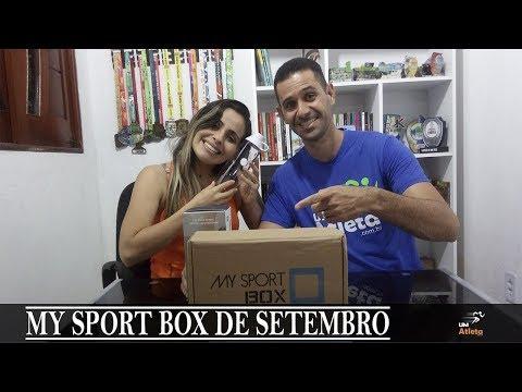 MY SPORT BOX DE JULHO   UNBOXING #17   Um Atleta