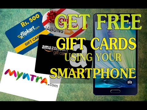 How to Get Free Amazon,Flipkart Gift cards in less than one minute per day.