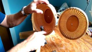How To Attach Handles To Nantucket Baskets