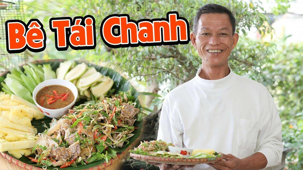 Ông Thọ Làm Thịt Bê Tái Chanh Ngon Mềm, Cả Nhà Cùng Mê | Steamed Veal Summer Rolls