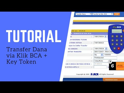 Tutorial transfer dana via klik bca key token youtube tutorial transfer dana via klik bca key token stopboris Gallery