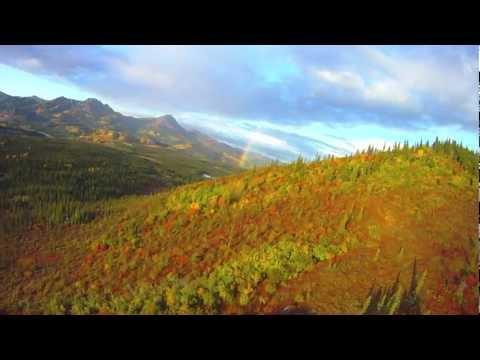 Flightseeing Fall Colors in Alaska by Radio Control Plane