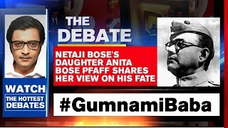 Arnab Goswami Debates: Netaji Bose's Daughter Anita Bose Pfaff Shares Her View On His Fate