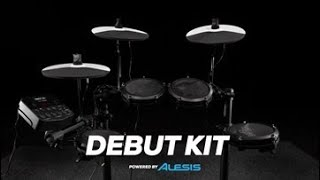 Alesis Debut Electronic Drum Kit   Gear4music Overview
