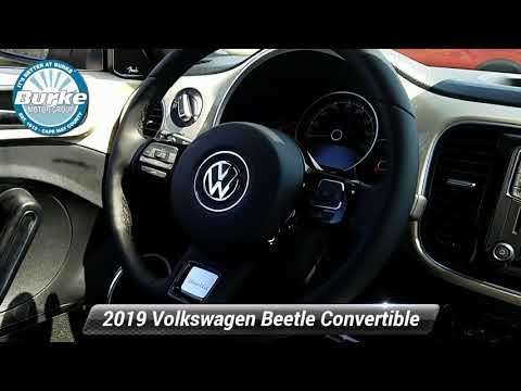 New 2019 Volkswagen Beetle Convertible Final Edition SEL, Cape May Court House, NJ V19102