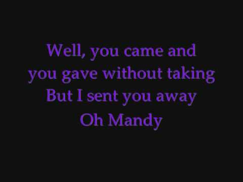 Westlife - Mandy (lyrics) {Request}