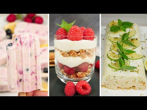 3 leckere Desserts für den Sommer