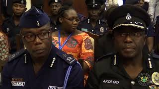 Vice President Sworn in as Chairman of Police Council