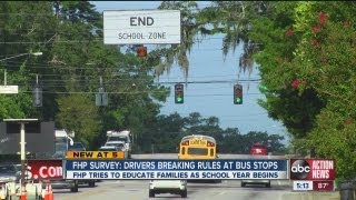 FHP survey shows many ignore school bus laws