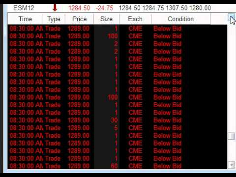 HFT and the Jobs Report