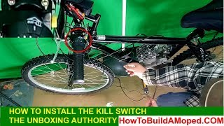 How to Install The Kill Switch How To Build a Motorized Bicycle Part 11