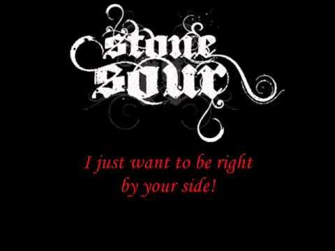 Stone Sour-Say you'll haunt me (Lyrics)