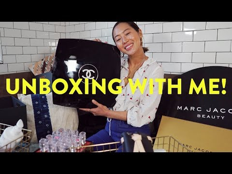 Massive Unboxing Haul & Giveaway! Chanel, Marc Jacobs & More  Aimee Song